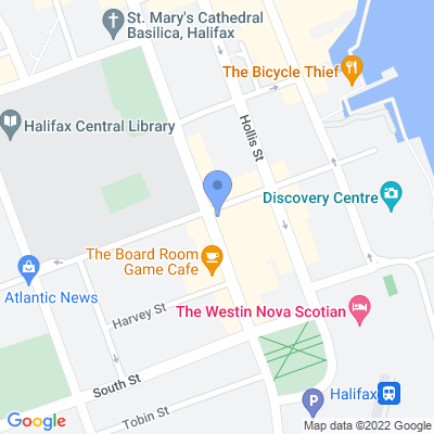 Snappy Tomato - Halifax Map