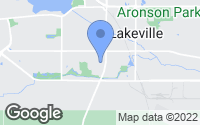 Map of Lakeville, MN