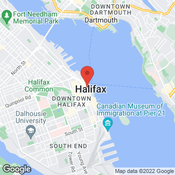 Map of Tim Hortons at 1781 Upper Water St, Halifax, NS B3J 3R6