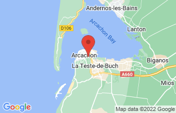 Map of Arcachon