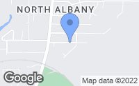 Map of Albany, OR