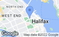 Map of Halifax, NS