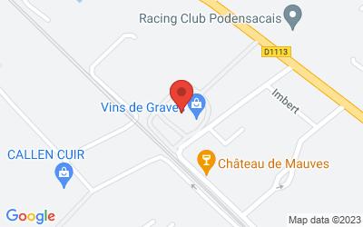 Maison des Vins de Graves 61 cours du Maréchal Foch  33720 PODENSAC