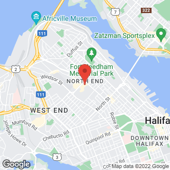 Map of Tim Hortons at 6020 Young St, Halifax, NS B3K 2A2