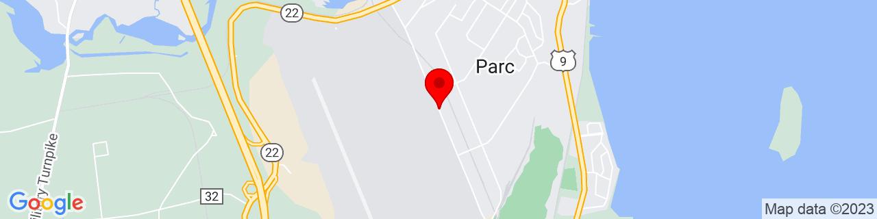 Google Map of 44.6631325, -73.4610652