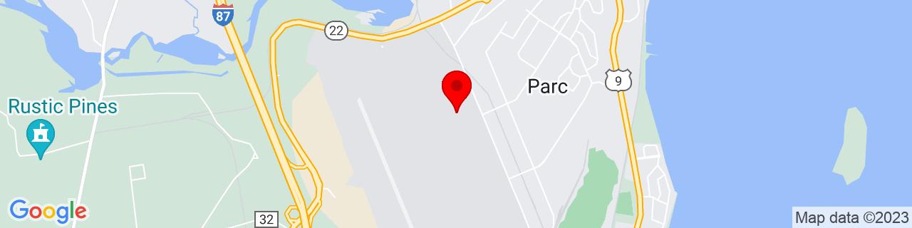 Google Map of 44.6646608, -73.46500189999999