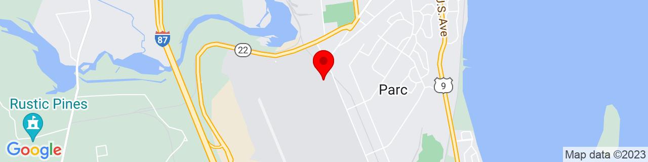 Google Map of 44.6680944, -73.4658099