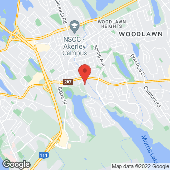 Map of Tim Hortons at 650 Portland St, Dartmouth, NS B2W 2M1