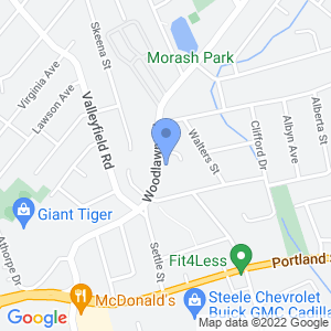 Kwik Way Woodlawn Convenience Store Map