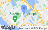 Map of Dartmouth, NS