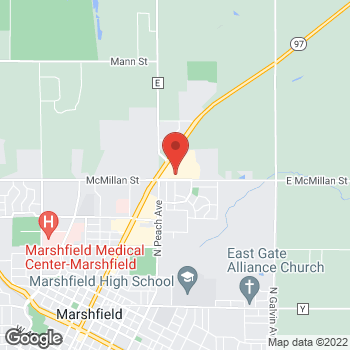 Map of Check `n Go at 1913 North Central Avenue, Marshfield, WI 54449