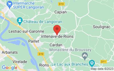 406 Darlan-Est, 33550 Villenave-de-Rions, France
