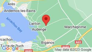 Carte de localisation du centre de contrôle technique AUDENGE