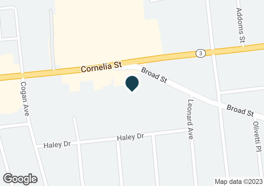 Google Map of301 CORNELIA ST