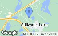 Map of Stillwater Lake, NS