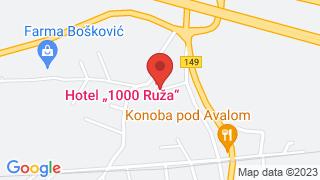1000 Ruža map