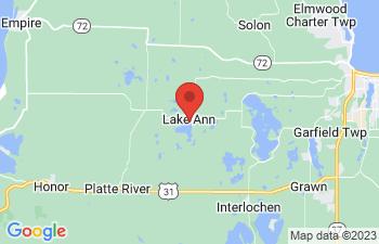 Map of Lake Ann