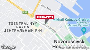 Региональный представитель Hilti в г. Новороссийск