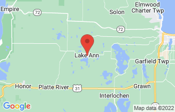 Map of Lake Ann