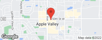 Map of 15050 Cedar Ave in Apple Valley