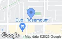 Map of Rosemount, MN