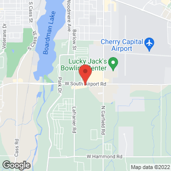 Map of Check `n Go Airport Road at 1317 South Airport Road West, Traverse City, MI 49686