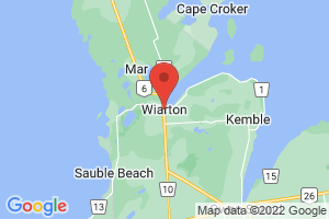 Map of Wiarton
