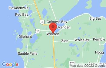Map of Wiarton