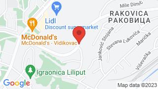 Villa Panorama map