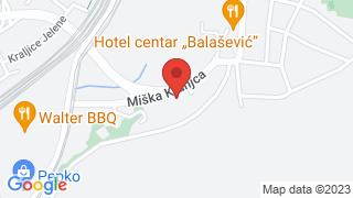 Зграда општине Раковица map
