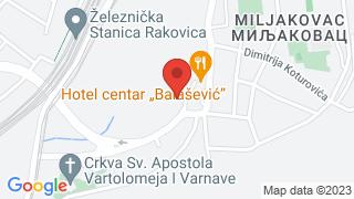 Центар за културу и образовање Раковица map