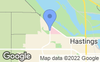 Map of Hastings, MN