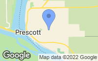 Map of Prescott, WI