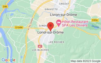 26270 Loriol-sur-Drôme, France