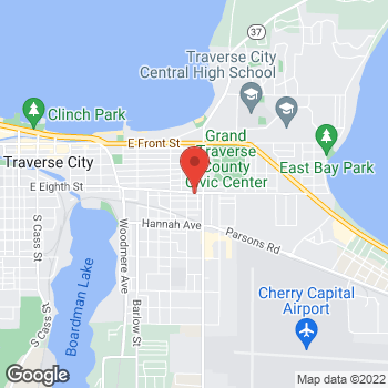 Map of Fifth Third Mortgage - Ryan Mooney at 1028 East Eighth Street, Traverse City, MI 49686