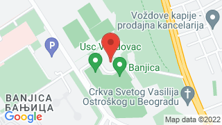 СЦ Бањица map