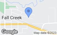 Map of Fall Creek, WI