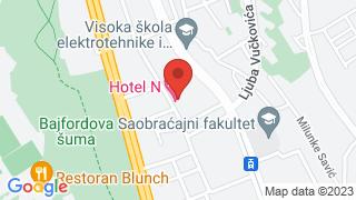 Хотел Н map