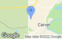 Map of Carver, MN