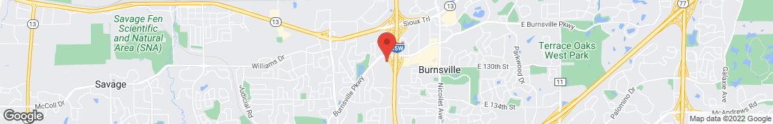 Map of 12950 Aldrich Ave S in Burnsville