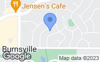 Map of Burnsville, MN