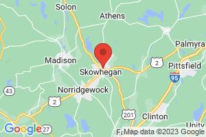 Map of Skowhegan