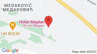 Мајдан map