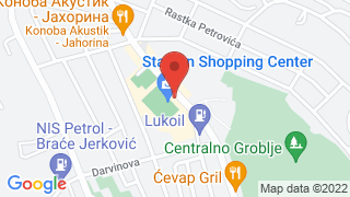 Stadion Shopping Center map