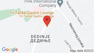 Tri tacke map