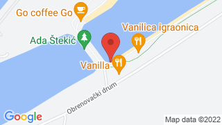 Aqua Ski Caffe map
