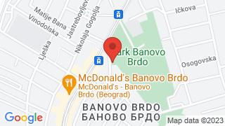 Детлић map