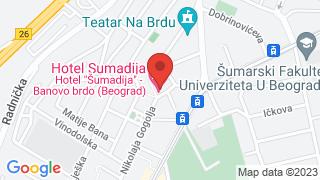 Sumadija map