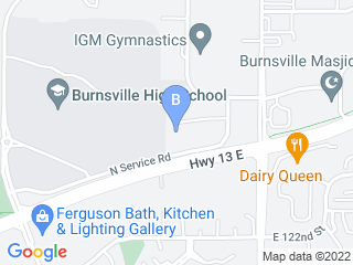 Map of American Boarding Kennels Dog Boarding options in Burnsville | Boarding