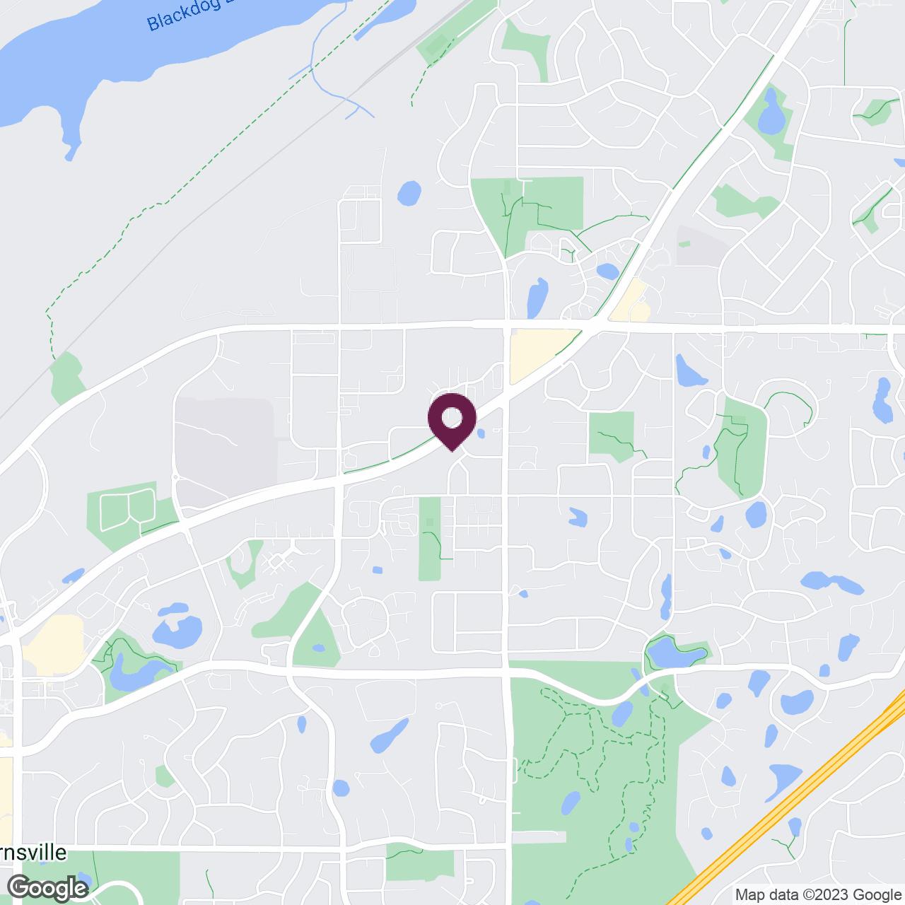Google Maps static image of Apple Valley, Burnsville, SW Suburbs